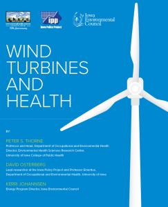 Wind Turbines and Health